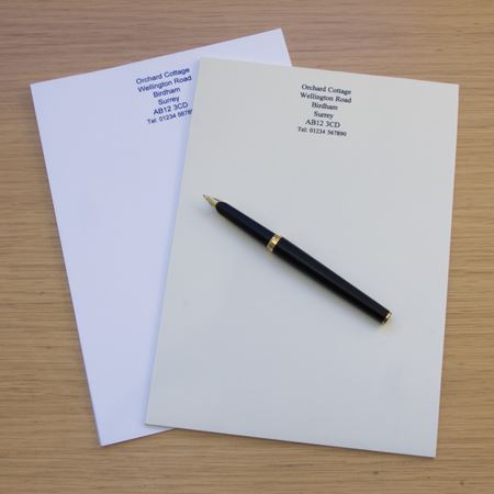 Picture of A5 Notepaper x 50 sheets