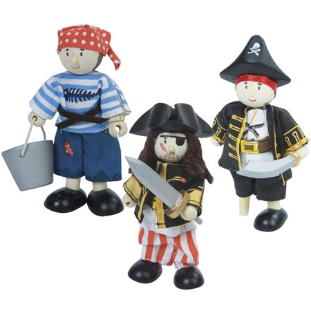 Picture of Budkins - Pirate Trio