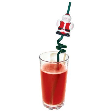 Picture of Santa Straw