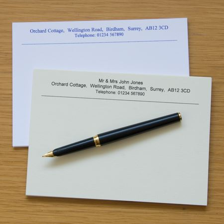 Picture of Correspondence Cards x 100