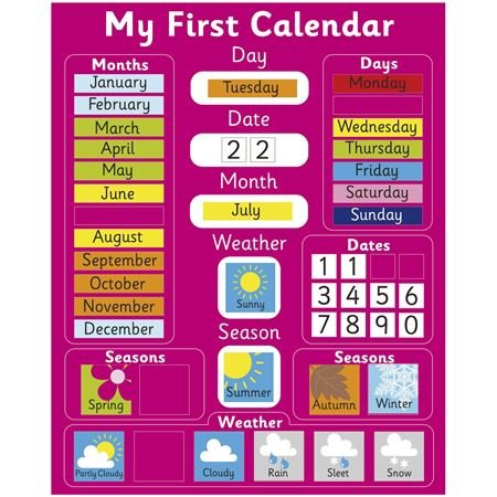 Picture of My First Calendar (Pink)