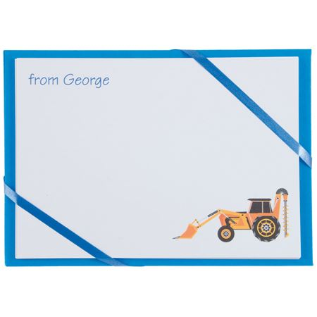 Picture of Named Cards - Digger (Blue)