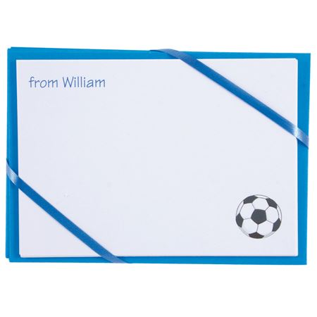 Picture of Named Cards - Football (Blue)
