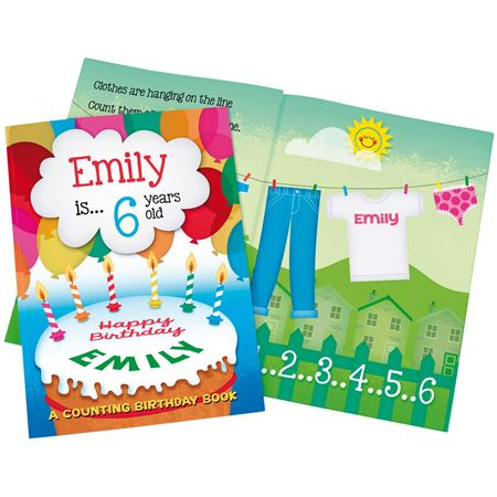 Picture of Personalised Book - Birthday Counting