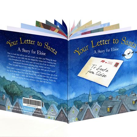 Picture of Personalised Book - Your Letter to Santa