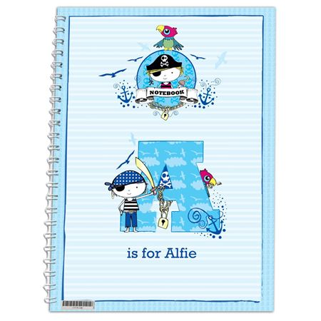 Picture of Pirate Notebook - Personalised