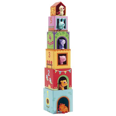 Picture of Topani Farm Stacking Cubes