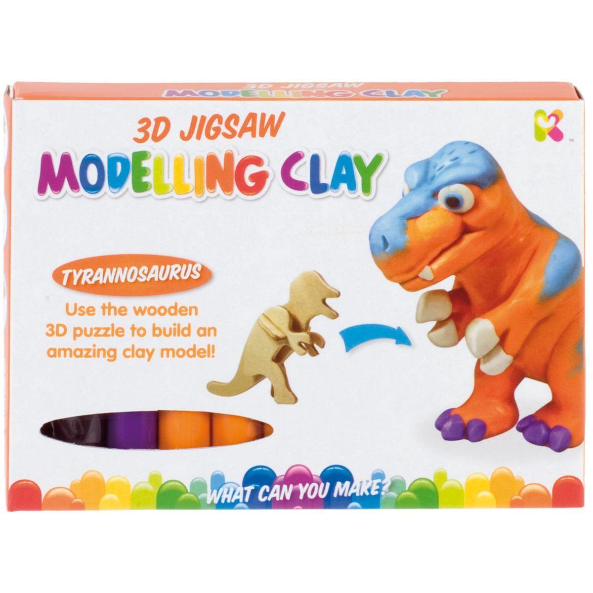 3D Dino Model Kit - T Rex