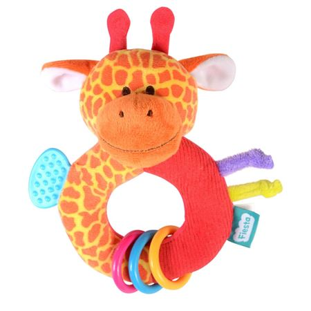 Picture of Ringalings Teething Ring - Giraffe