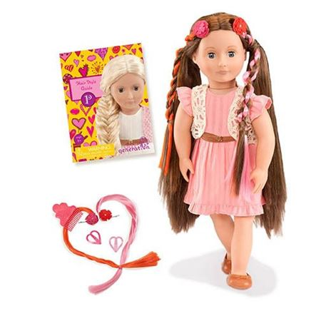 Picture of Parker Brunette Hairgrow Doll