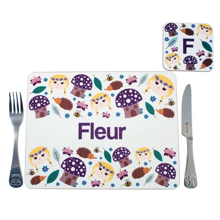Picture of Placemat - Enchanted Forest Picture of Placemat - Enchanted Forest  sc 1 st  Mulberry Bush & Personalised Breakfast Lunch u0026 Dinner Sets for Kids