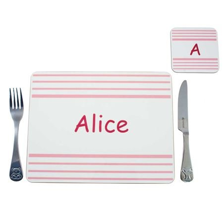 Picture of Placemat - Pink Stripe