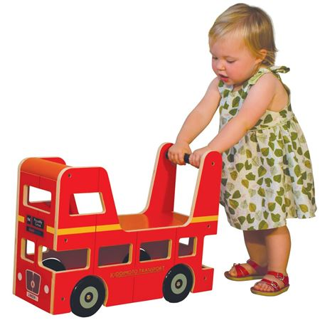 Picture of London Bus Babywalker