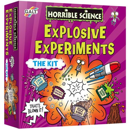 Picture of Explosive Experiments
