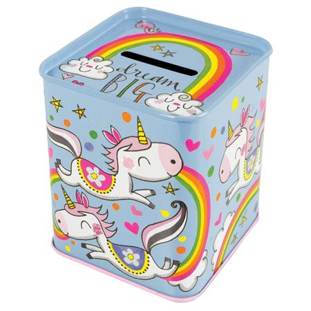Picture of Dream Big - Money Tin (Unicorn)