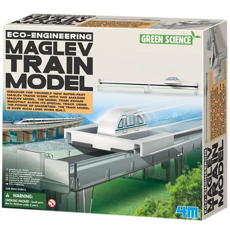 Picture of Maglev Train Model