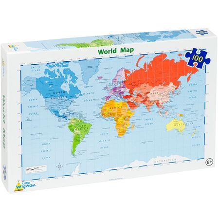 Picture of World Map Jigsaw (100)