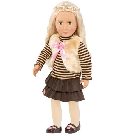 BRAND NEW Our Generation® Jewelry Doll 18/'/' Anya PERFECT GIFT GIRLS  TOY CHEAP