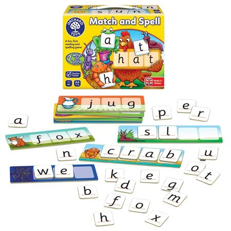 Picture of Match & Spell Game