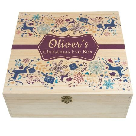 Picture of Personalised Christmas Eve Box - Festive