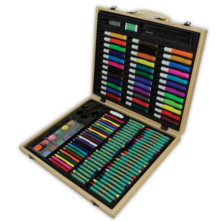 Picture of Wooden Art Set (131 piece)