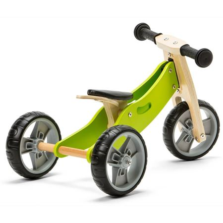 Picture of 2 in 1 Bike - Green (Tricycle / Balance Bike)