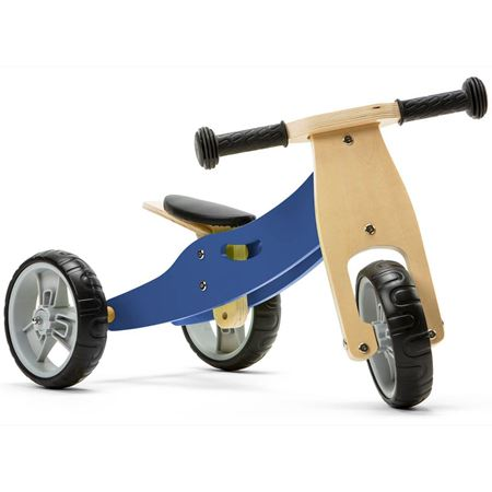 Picture of 2 in 1 Bike - Blue (Tricycle / Balance Bike)