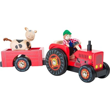Picture of Farm Tractor & Trailer
