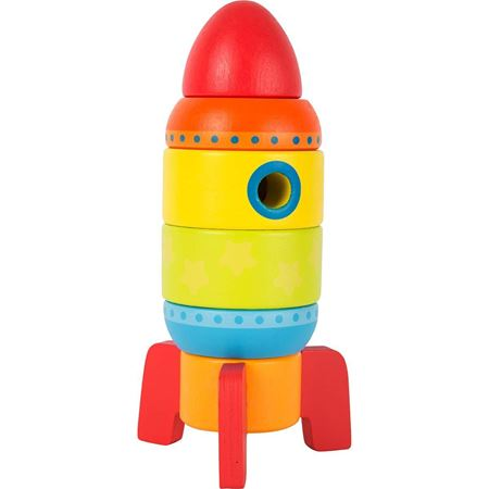 Picture of Colourful Stacking Rocket