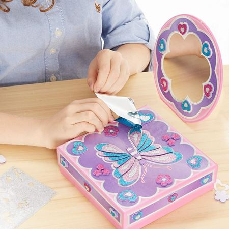 Picture of Glitter Treasure Box & Mirror