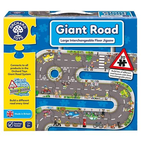 Picture of Giant Road Puzzle