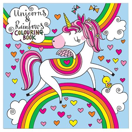 Picture of Unicorns & Rainbows Colouring Book
