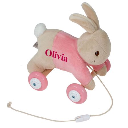 Picture of Flopsy Personalised Pull Along Toy