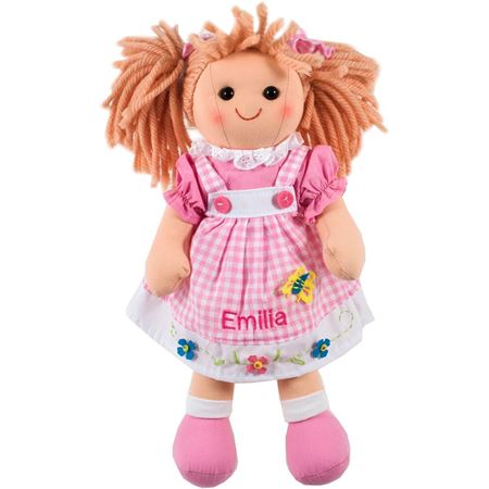 Picture of Personalised Gingham Doll