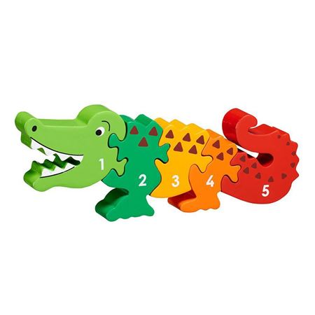Picture of Crocodile 1 - 5 Number Puzzle