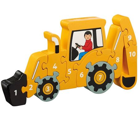 Picture of Digger 1 - 10 Number Puzzle