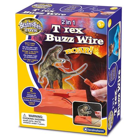 Picture of 2 in 1 T Rex Buzz Wire
