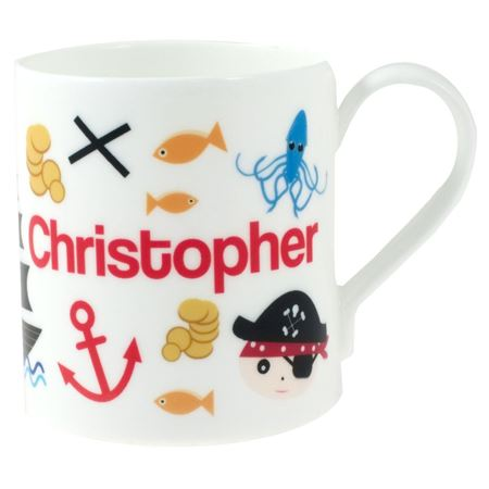 Picture of Personalised China Mug - Pirate Adventures