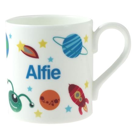 Picture of Personalised China Mug - Space Explorer