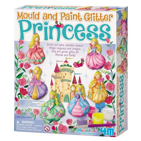 Picture of Mould and Paint Glitter Princess