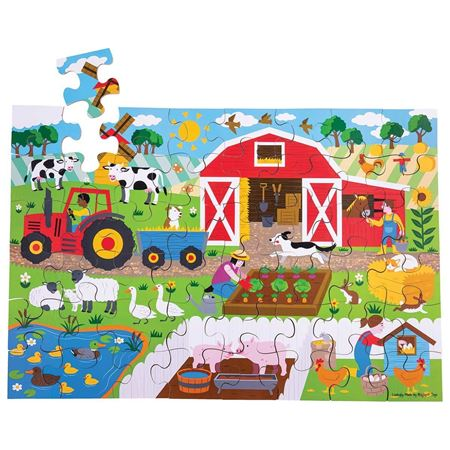Picture of Farmyard Floor Puzzle