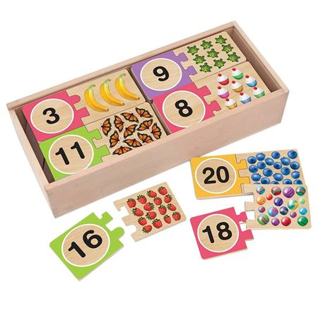 Picture of 1 - 20 Numbers Puzzles