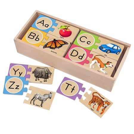 Picture of Wooden Alphabet Puzzles