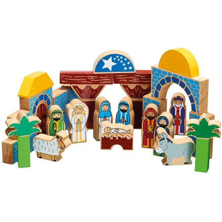 Picture of Nativity Building Blocks