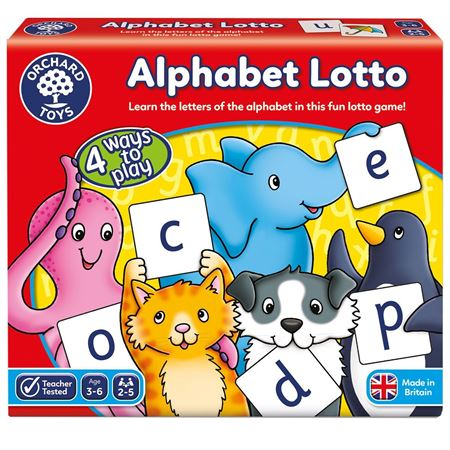 Picture of Alphabet Lotto