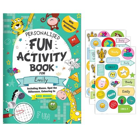 Picture of Personalised Activity Book with Stickers