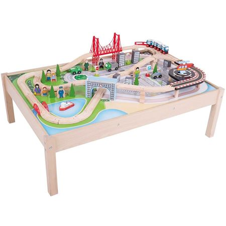 Picture of City Train Set & Table