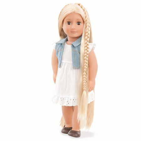 Picture of Phoebe Blonde Hairgrow Doll