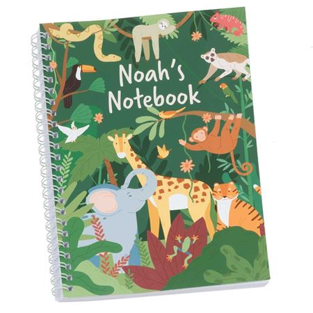 Picture of Jungle Personalised Notebook