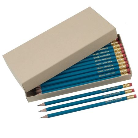 Picture of Box of 42 Personalised HB Pencils